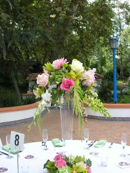 wedding reception flowers 3 2