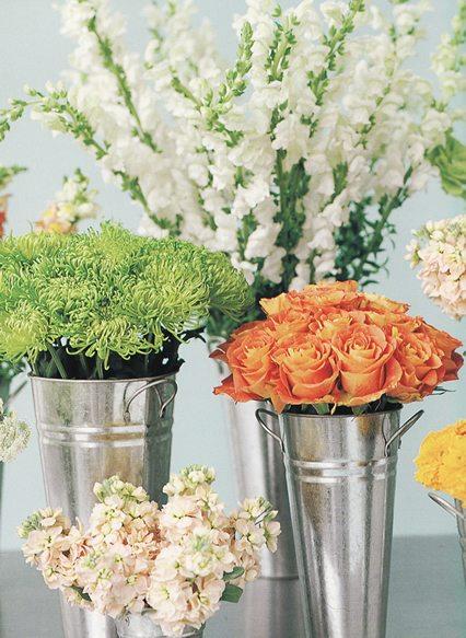 wedding reception flowers 3 4