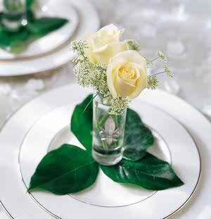 wedding reception flowers 3