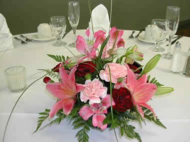 wedding reception flowers 33