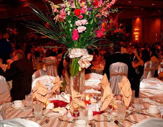 wedding reception flowers 4 2