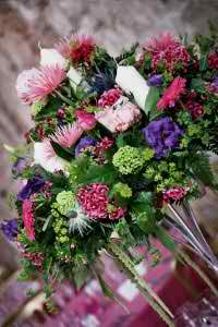 wedding reception flowers 4 3