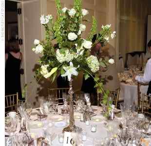 wedding reception flowers 4 4