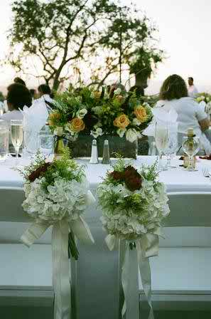 wedding reception flowers 4