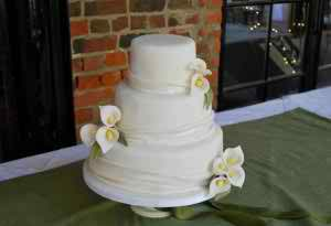wedding with calla theme 2