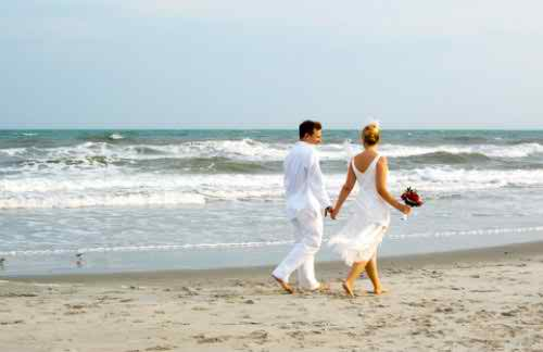 wedding with marine theme3