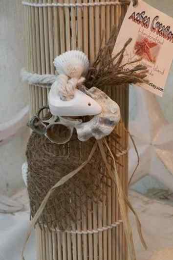 wedding with marine theme