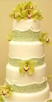 wedding with orchid theme 2