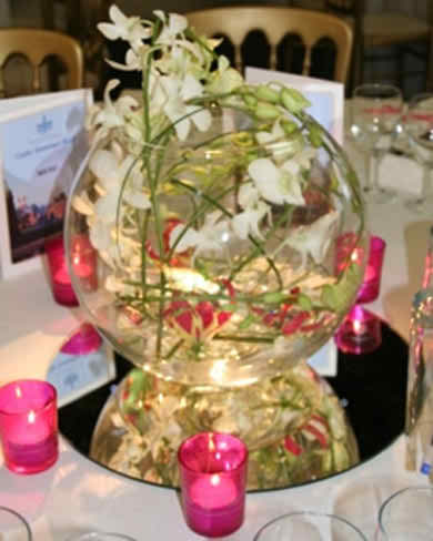 wedding with orchid theme 24