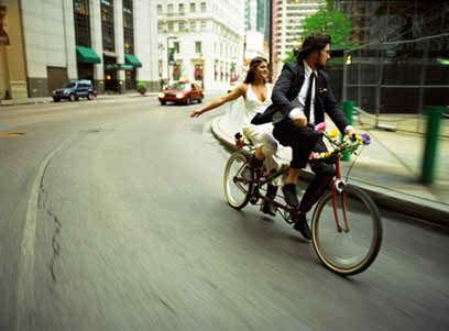 weddings on bicycles 2