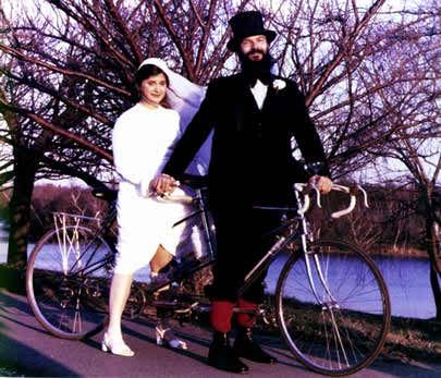 weddings on bicycles 3