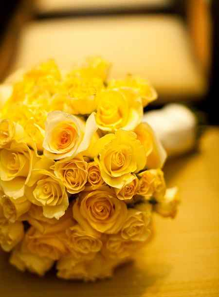 yellow bridal bouquets 3