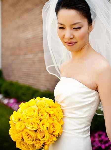 yellow flower arrangements 4
