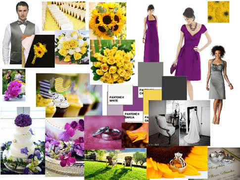 yellow for your wedding reception
