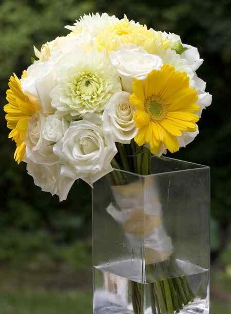 yellow wedding accessories 2