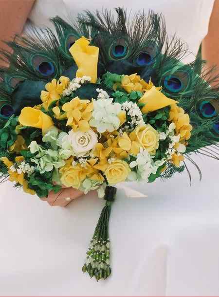 yellow wedding accessories 3