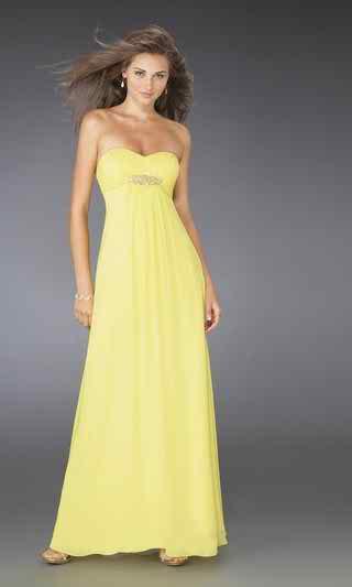 yellow wedding dress2