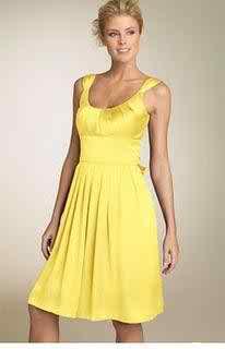 yellow wedding dress3