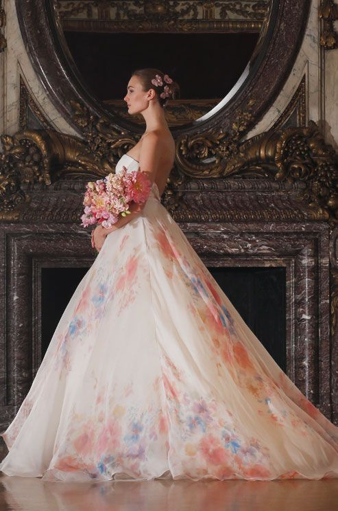 Floral Wedding Gowns That Will Make Your Heart Skip A Beat ...