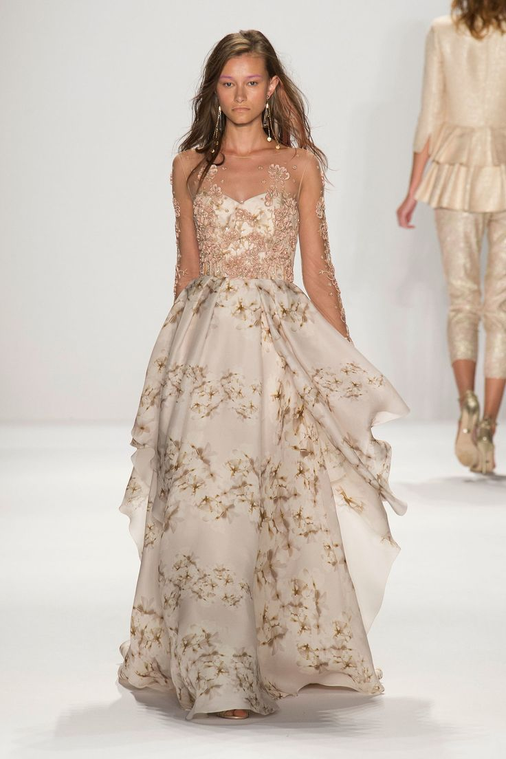 Floral wedding gowns that will make your heart skip a beat if youre more into neutrals then this gown may be just what you need as its a bit more romantic as well junglespirit Choice Image