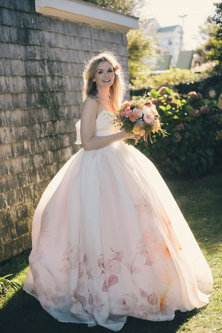 Floral Wedding Gowns That Will Make Your Heart Skip A Beat