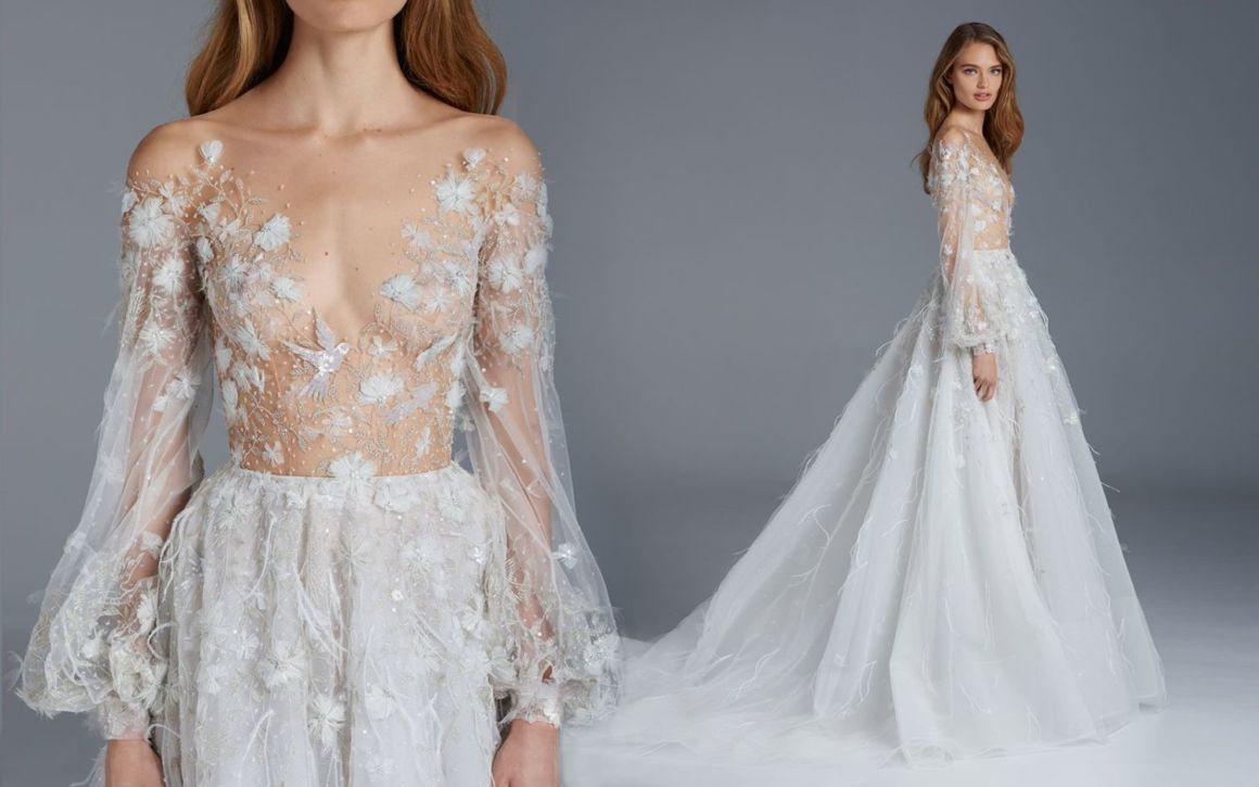 Paolo Sebastian Wedding Gowns That Will Knock You Right Off Your ...