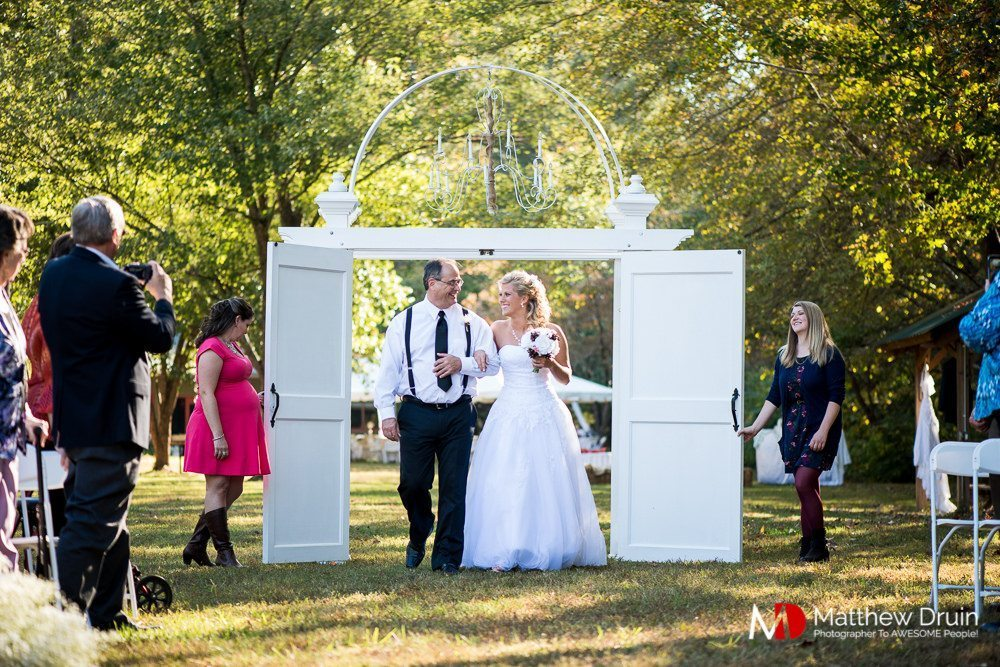 Small Wedding Ceremony With A Big Reception