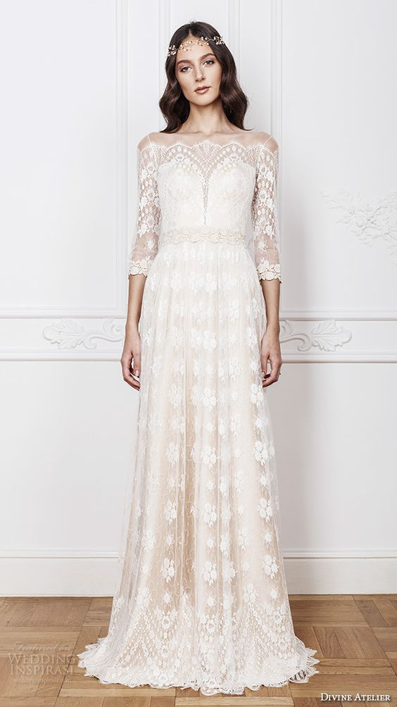 Wedding Gowns With Bohemian Vibes: Part 2 | | TopWeddingSites.com