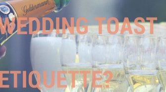 Q What S Proper Wedding Toast Etiquette