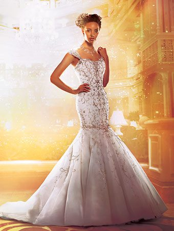 10 Disney-Inspired Wedding Gowns from Alfred Angelo - BridalPulse