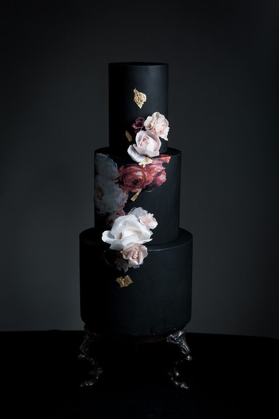 10 More Black Wedding Cakes That Will Leave You Speechless ...