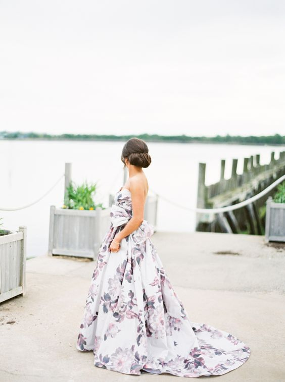 Floral Wedding Gowns That Will Make Your Heart Skip A Beat: part 2 ...