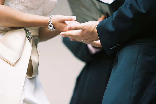 hand holding ceremony