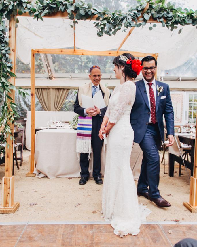 circling wedding ceremony