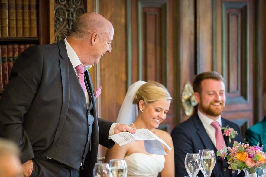 Short & Sweet Father Of The Bride Speech Examples