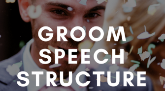 groom speech structure