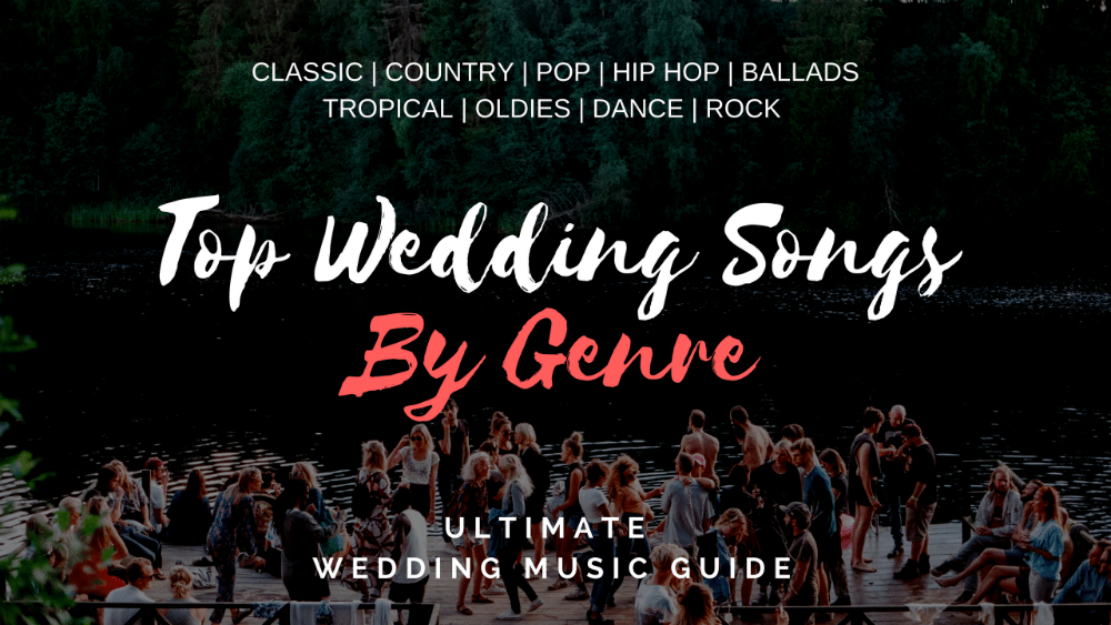 top wedding songs by genre