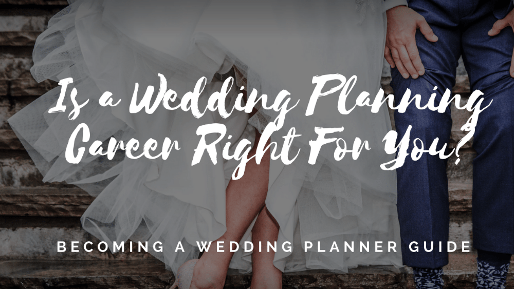 is wedding planning career for you