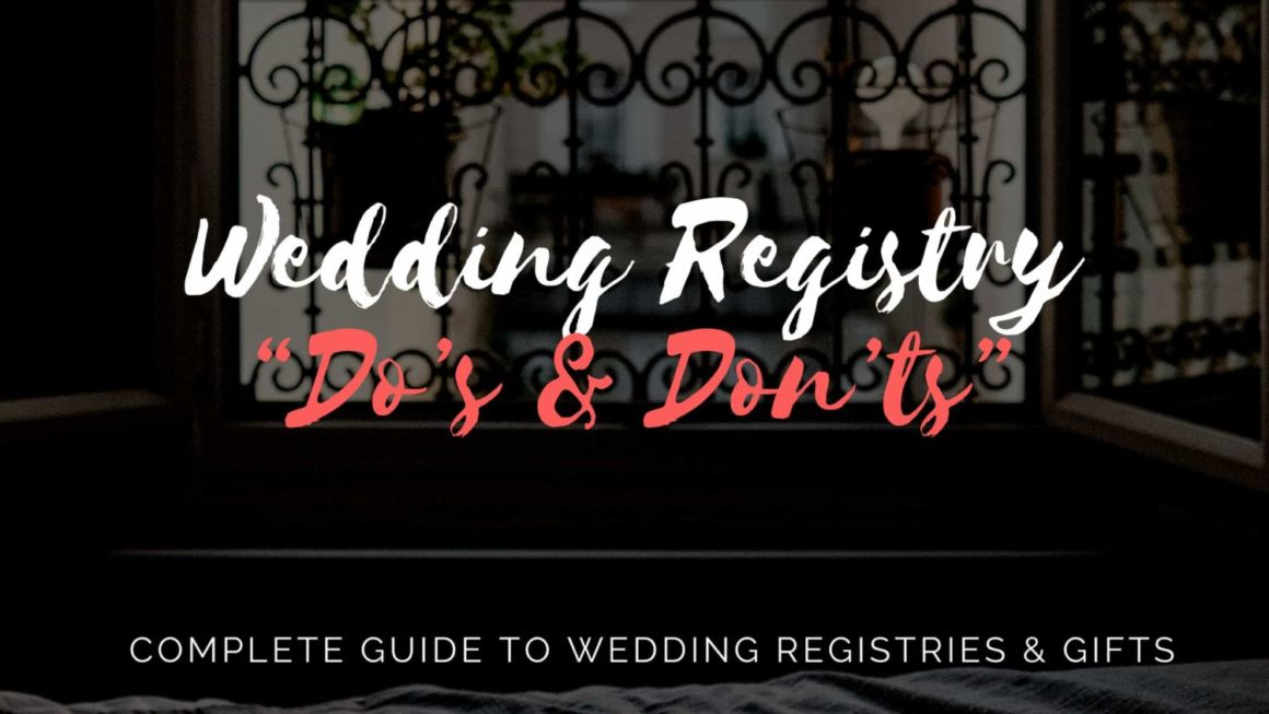 "Registry ""Do's & Don'ts"""