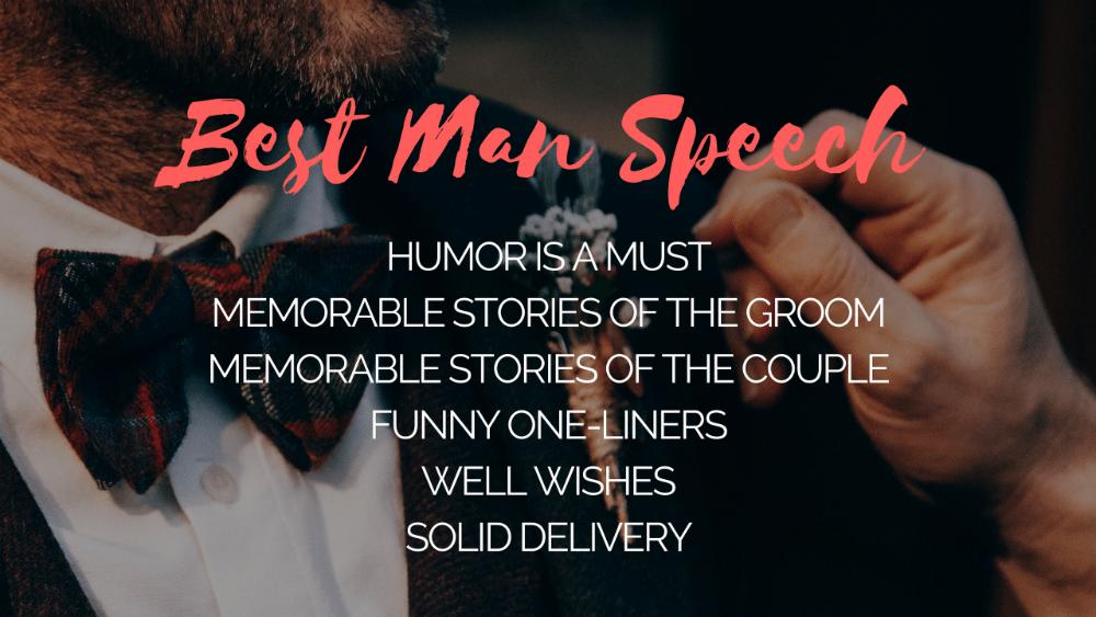 best man speech tips