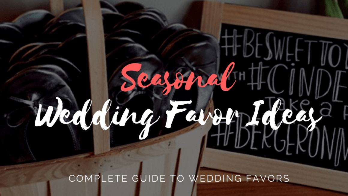 Seasonal Wedding Favors