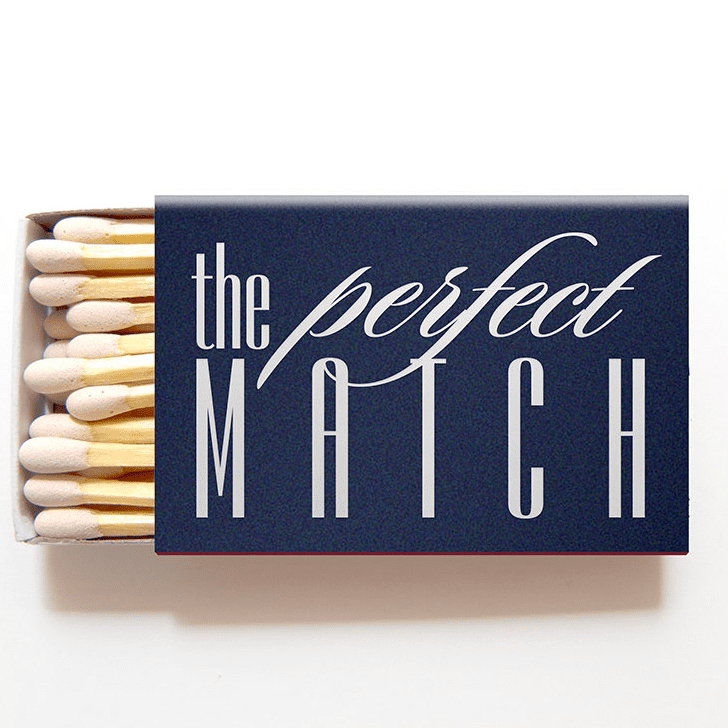 Fun ​Matchbox Wedding Favors