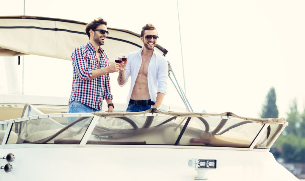 Image result for men bachelor party on a yacht