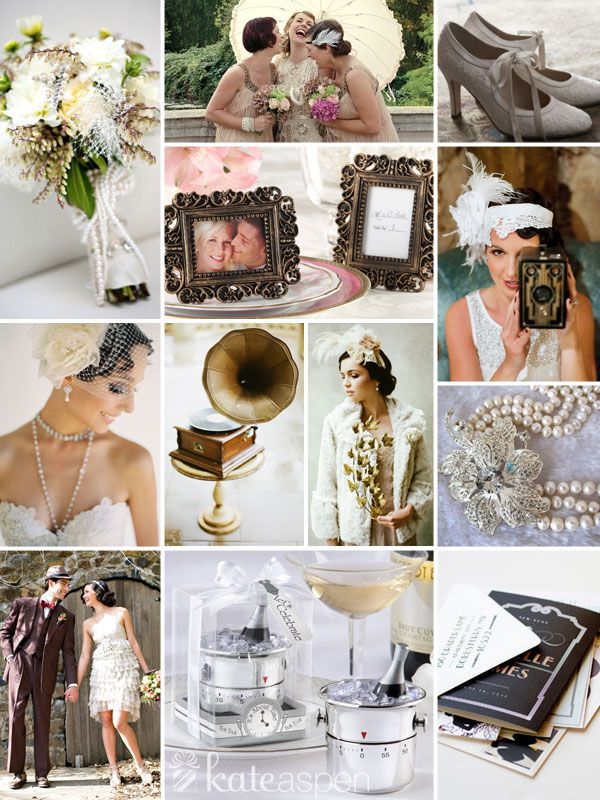Raise A Glass To The Roaring Twenties A 1920s Wedding Theme