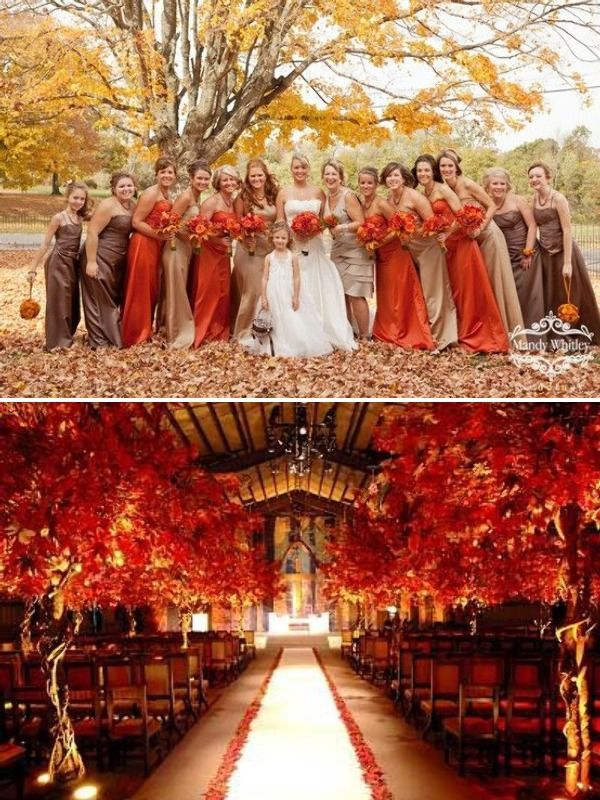 Give your fall wedding a contemporary twist with sarah lusardi sarah lusardi on fall weddings with a fresh face junglespirit Gallery