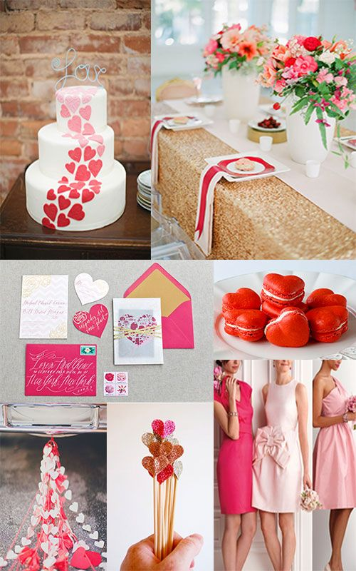 Calling Cupid: The Valentine's Day Wedding Theme ...