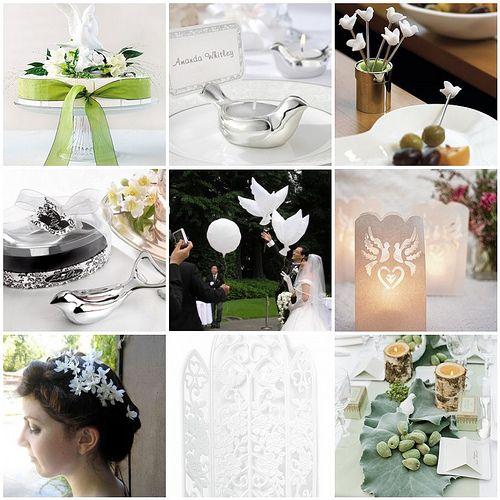 Dove Theme Weddings Topweddingsites