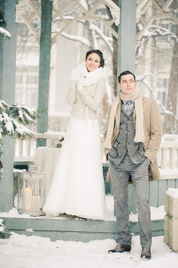 Like The Perfect Man, A Great Winter Wedding Dress Is Hard To Find
