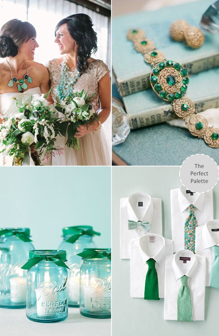 The Aqua Blue Wedding | | TopWeddingSites.com