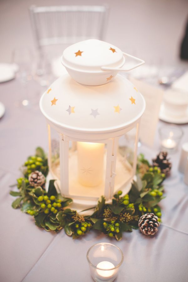 The Lazy Way To Great Winter Wedding Centerpieces